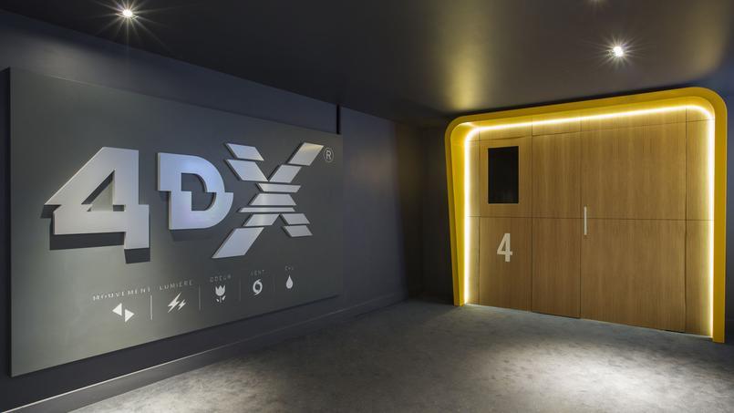 La nouvelle expérience cinématographique 4DX arrive en France
