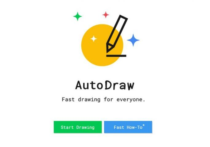 Google AutoDraw Home