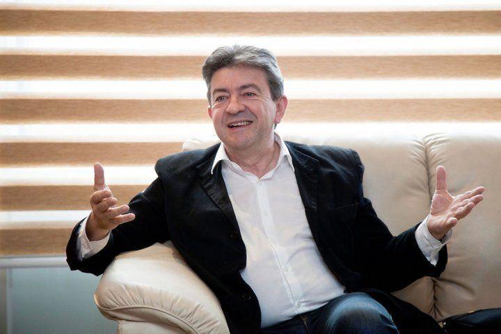 Jean-Luc Mélenchon, star du net