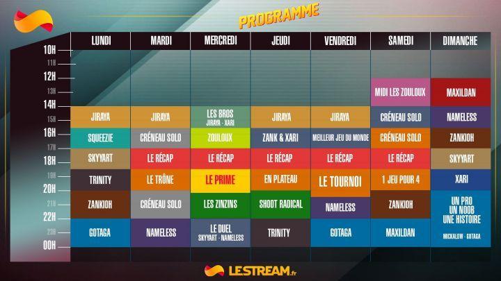 Programmation de lestream.fr