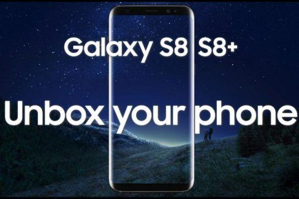 galaxy s8 s8+ unbox your phone capteur empreinte