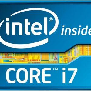 Logo du microprocesseur intel core i7