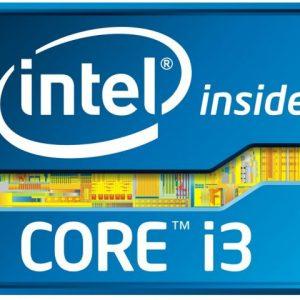 Logo du microprocesseur intel core i3