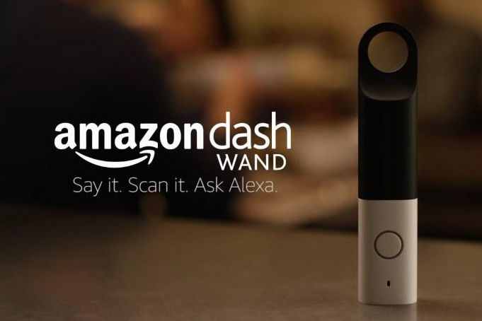 Amazon Dash Wand : Le nouveau boutton physique d'Amazon ?