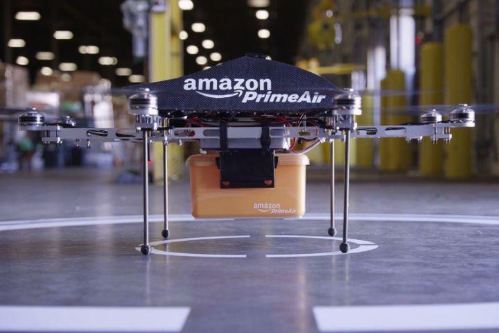 Amazon et ses livraisons en parachute