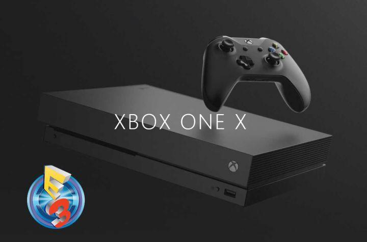 XBOX One X (Scorpio) : Enfin dévoilé à l'E3