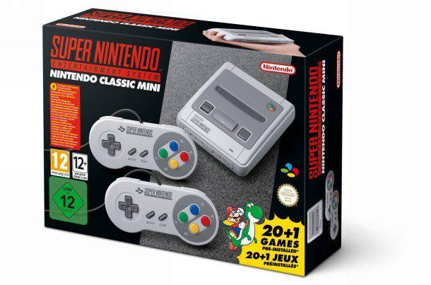 Super Nintendo Classic Mini : la Super NES est de retour !