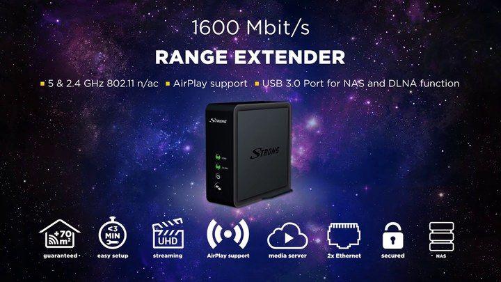 Strong Range Extender 1600 : améliorez votre connexion Wi-Fi !