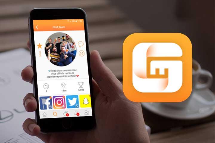 Giraf, l'application qui répertorie tous vos réseaux sociaux