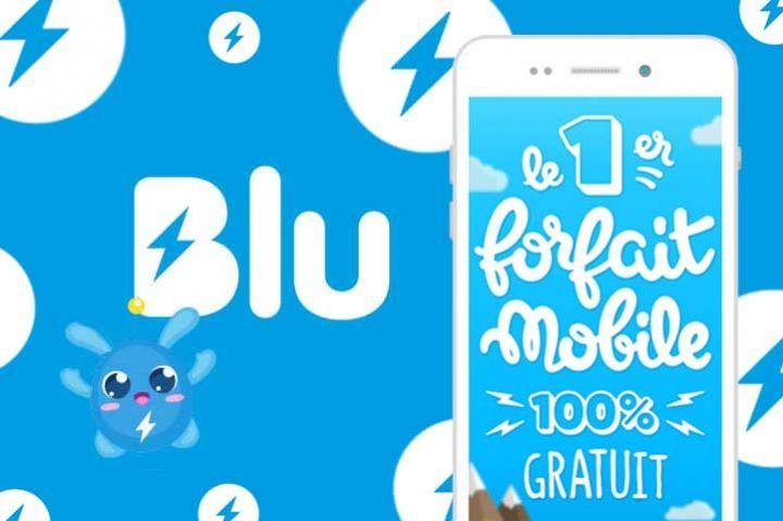 Un forfait mobile 100% gratuit ? Avec Blu, c'est possible !