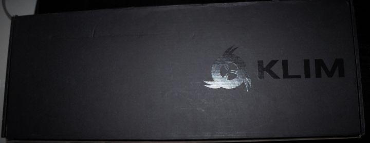 Boîte du clavier Klim Domination