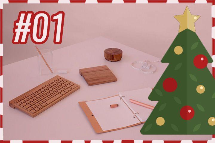 RotekAdvent : Orée, un clavier en bois fait à la main ! Rotek