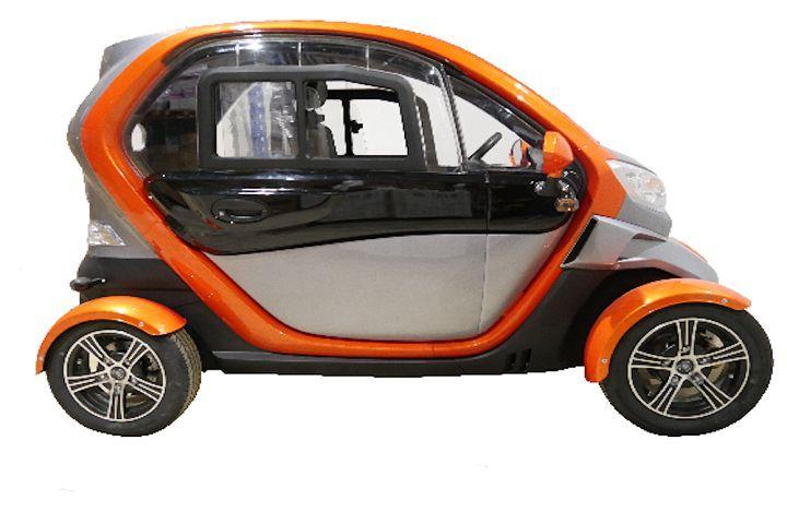 Lycar: la première voiture électrique sans permis d'E-road