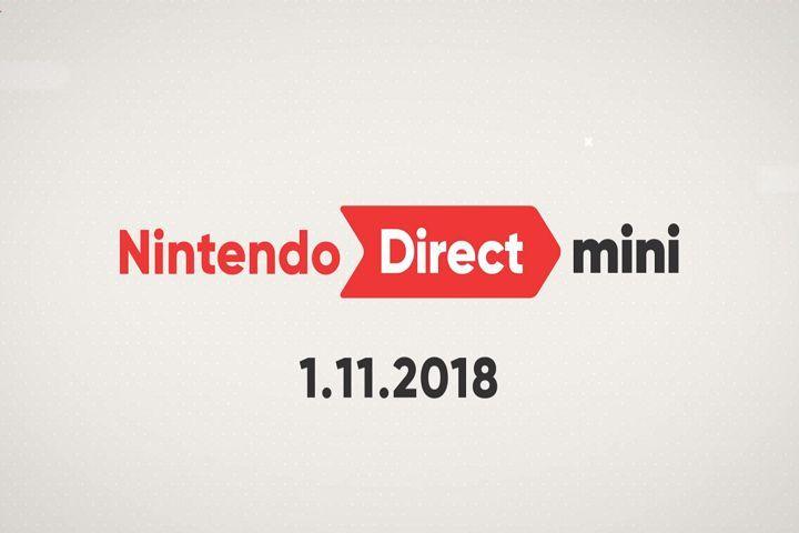 Récapitulatif du Nintendo Direct Mini 11/01