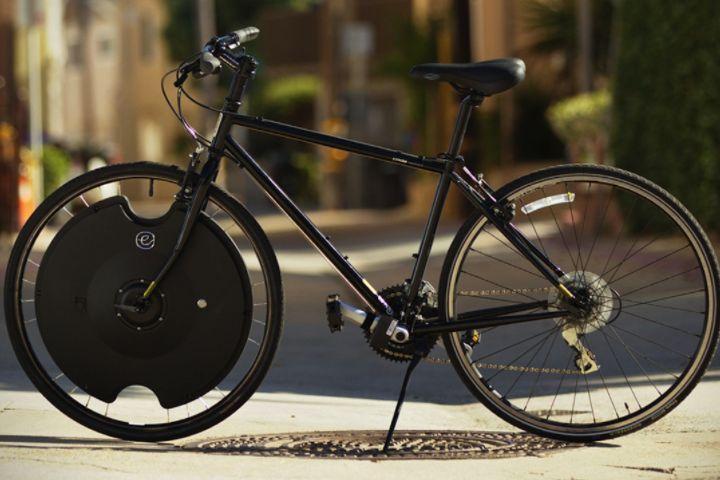 De New York à Las Vegas, en vélo équipé de la roue Electron Wheel