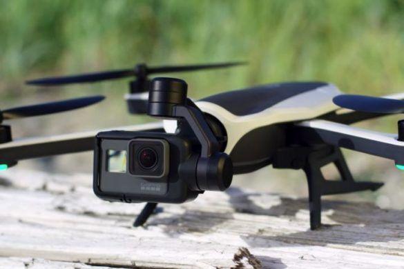 fin drones gopro karma