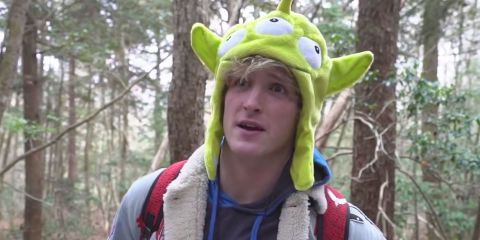 Logan Paul dans la forêt