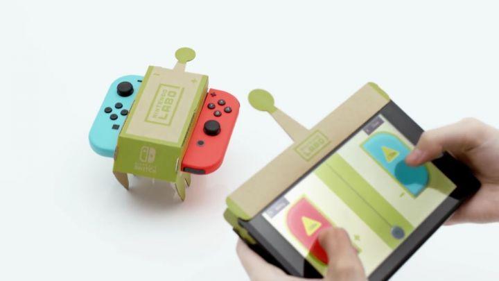 Exemple de jeu Nintendo Labo