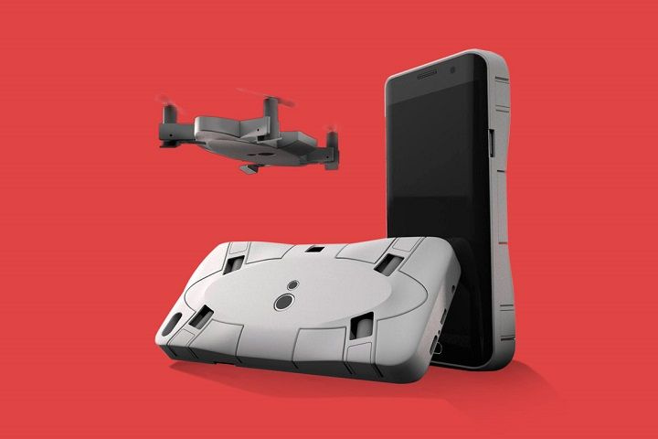 CES 2018 : Selfly Camera, une coque qui sert de drone !