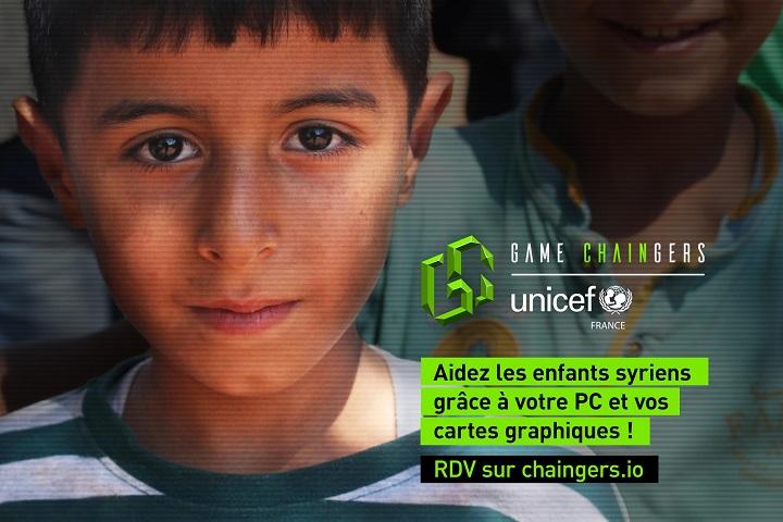 Unicef : les gamers invités à faire des dons en cryptomonnaie
