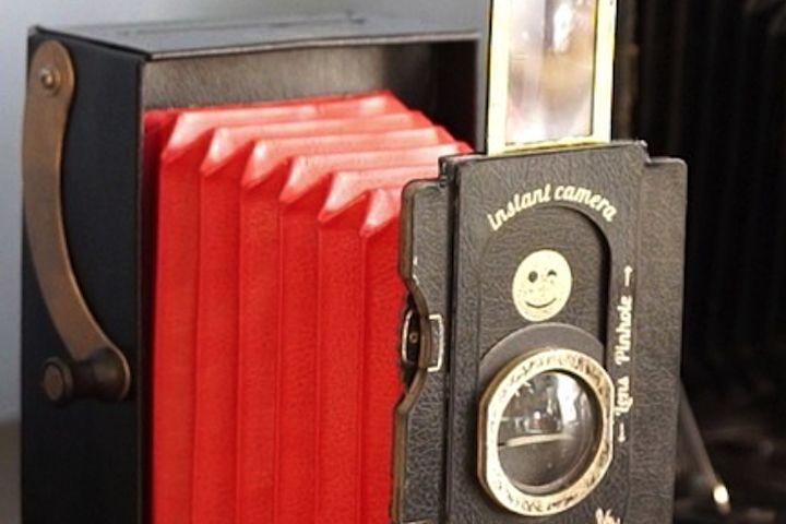 Retour aux sources avec un appareil photo en carton recyclé