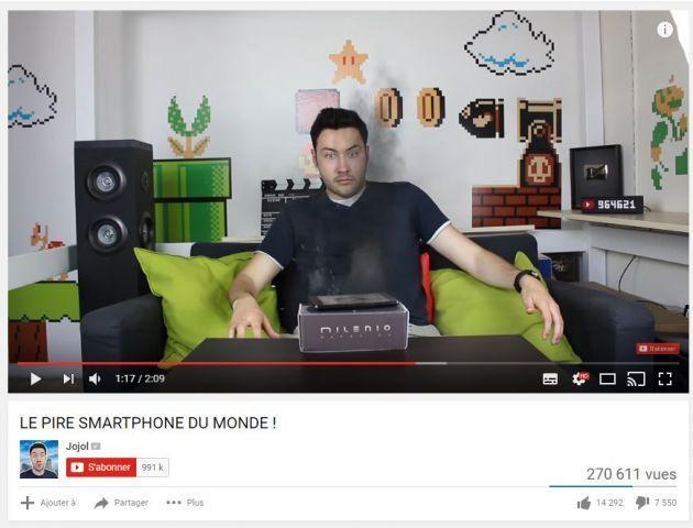 revenus sur youtube