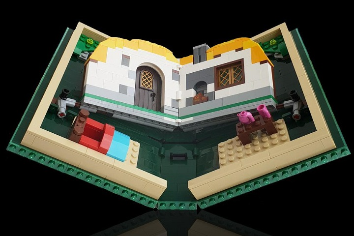 Lego trolle les smartphones pliables avec le Lego Fold