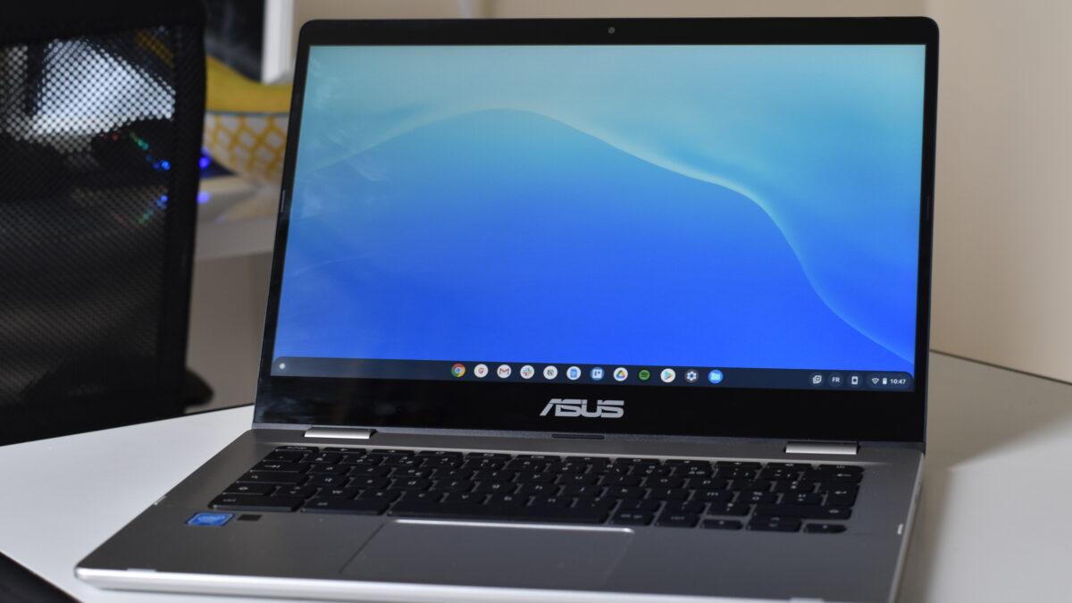 Test du Asus C423 : un Chromebook utile pour les petites bourses