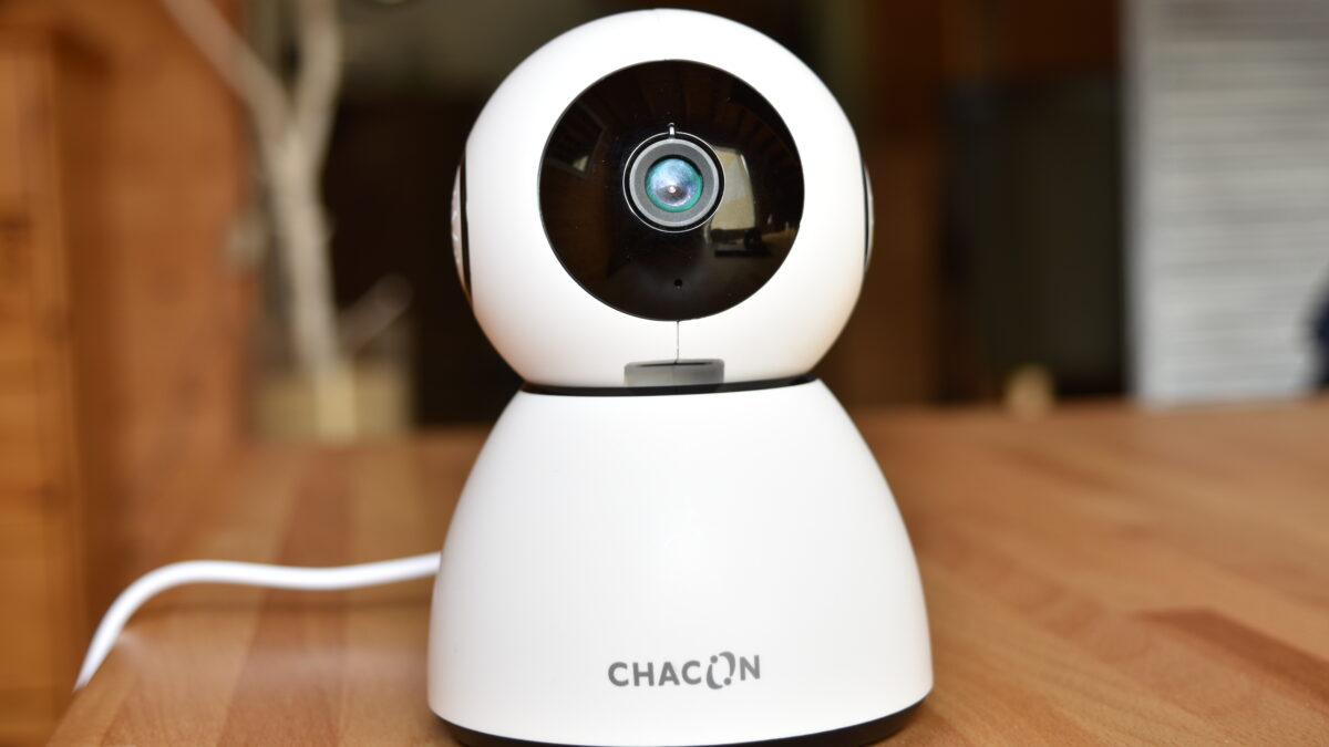 Chacon IPCAM RI03 : test de la caméra de surveillance connectée HD à 50€ !