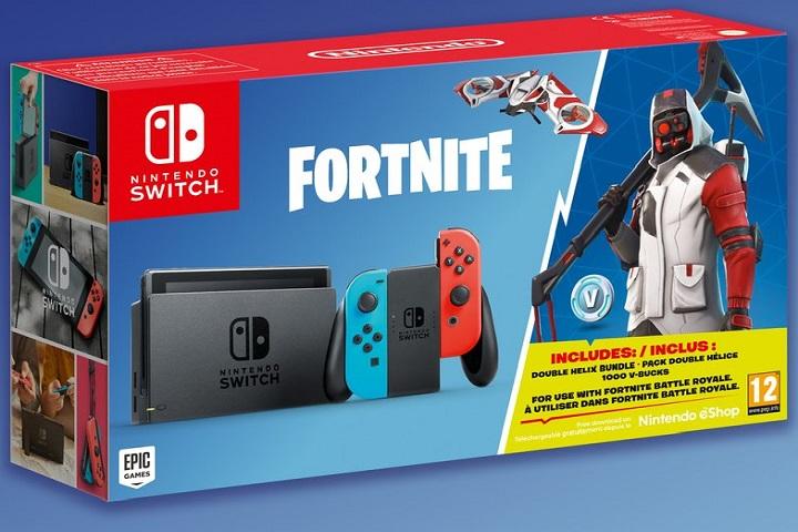 La Nintendo Switch bientôt vendue avec Fortnite
