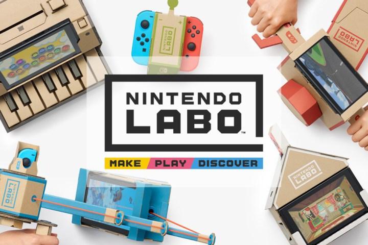 Nintendo Labo : découvrez le kit véhicules pour Nintendo Switch !