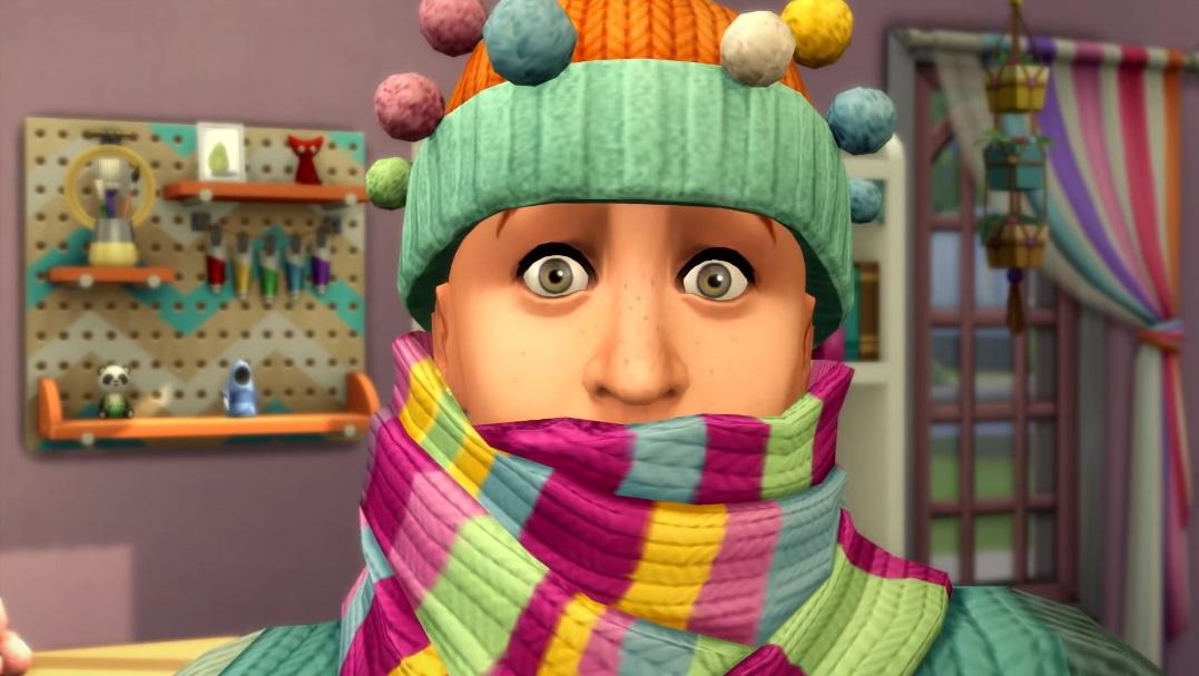 Les Sims 4, dernières nouveautés et tricot