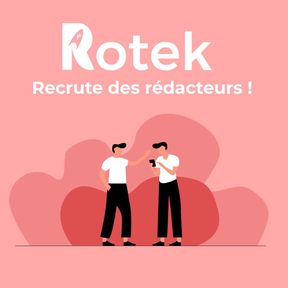 Rotek devenir rédacteur