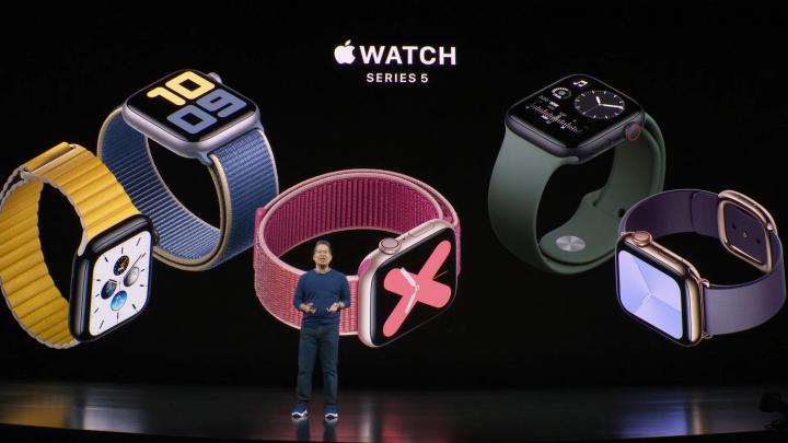apple watch series 5 background