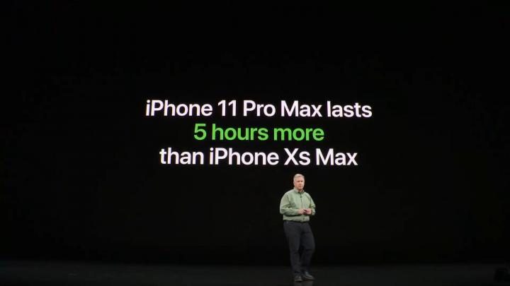 autonomie iphone 11 pro max comparaison batterie
