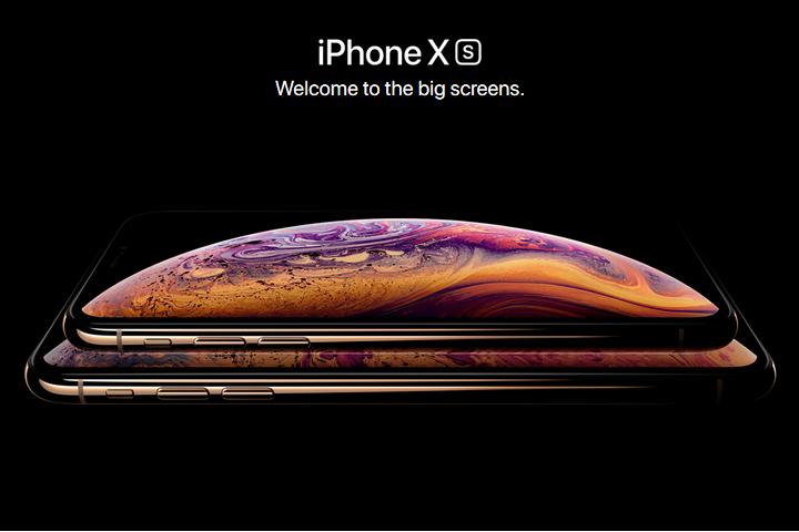 nouveautés iphone apple XS MAX XR