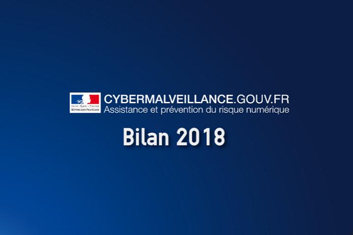 Cybermalveillance : le billan de l'année 2018