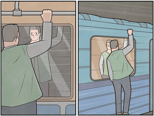 métro dessin