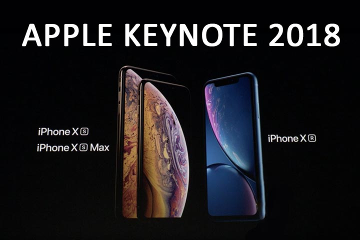 iPhone XS, XS Max, iPhone XR, Watch Series 4 : les nouveautés d'Apple