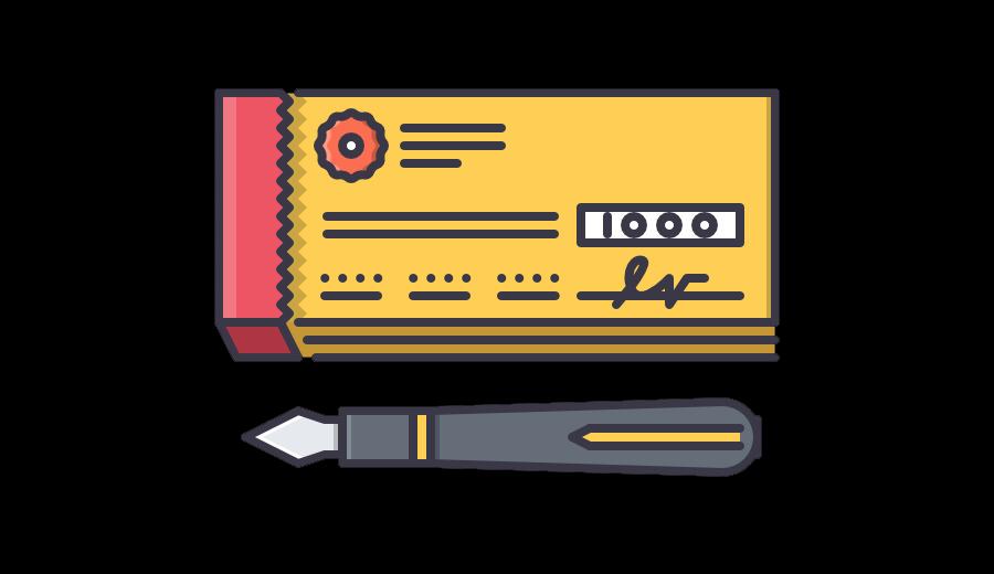 chèque électronique