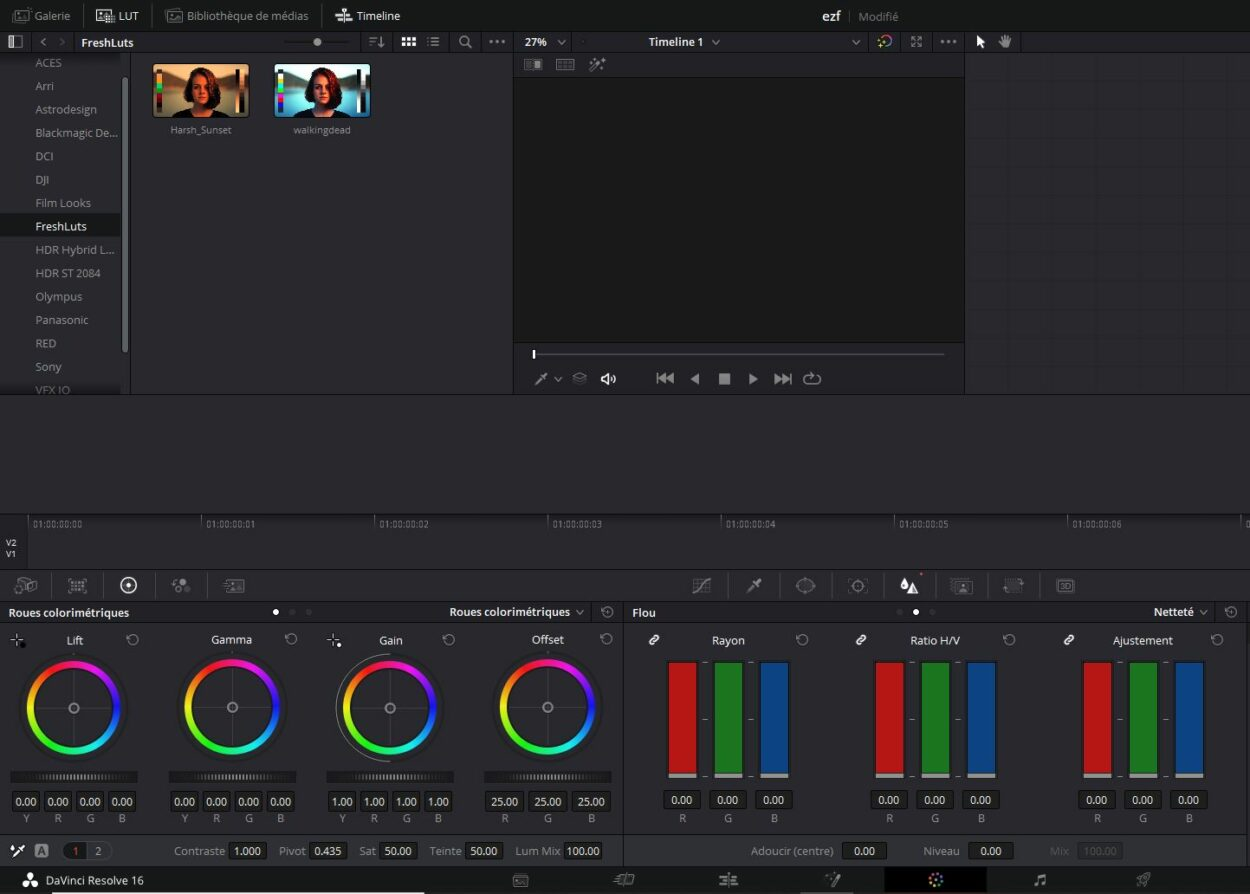 luts in davinci resolve