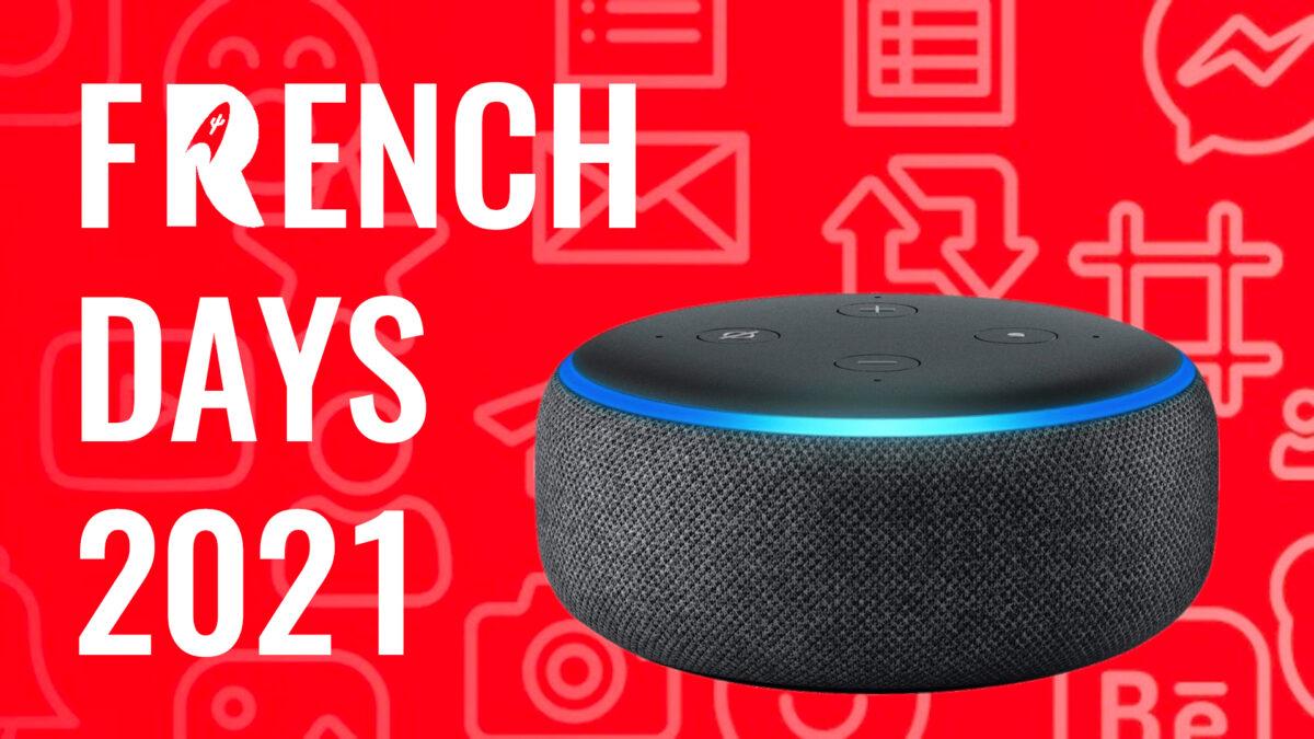 Echo Dot : l'enceinte connectée d'Amazon à  25€ ! – French Days 2021