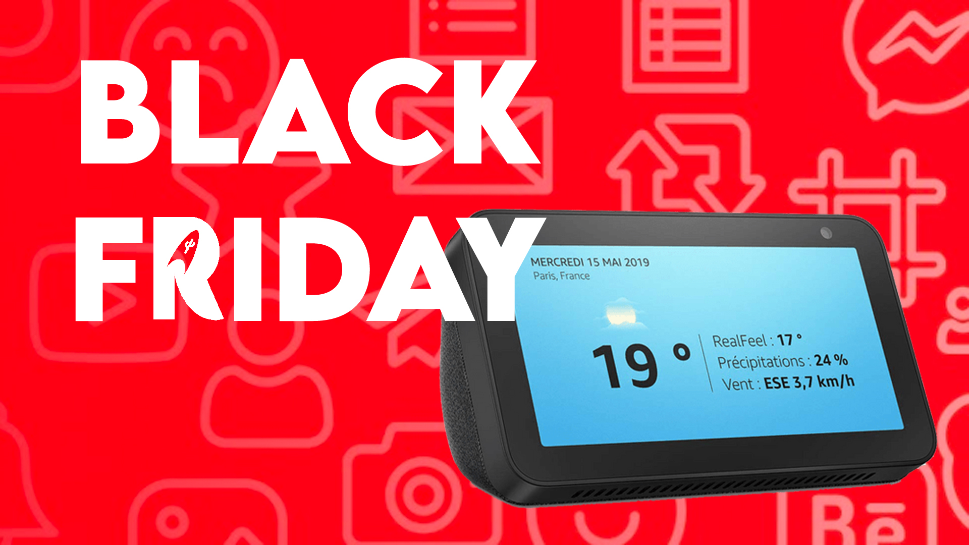 L'Echo Show 5 d'Amazon à 45€ pour le Black Friday 2020 !