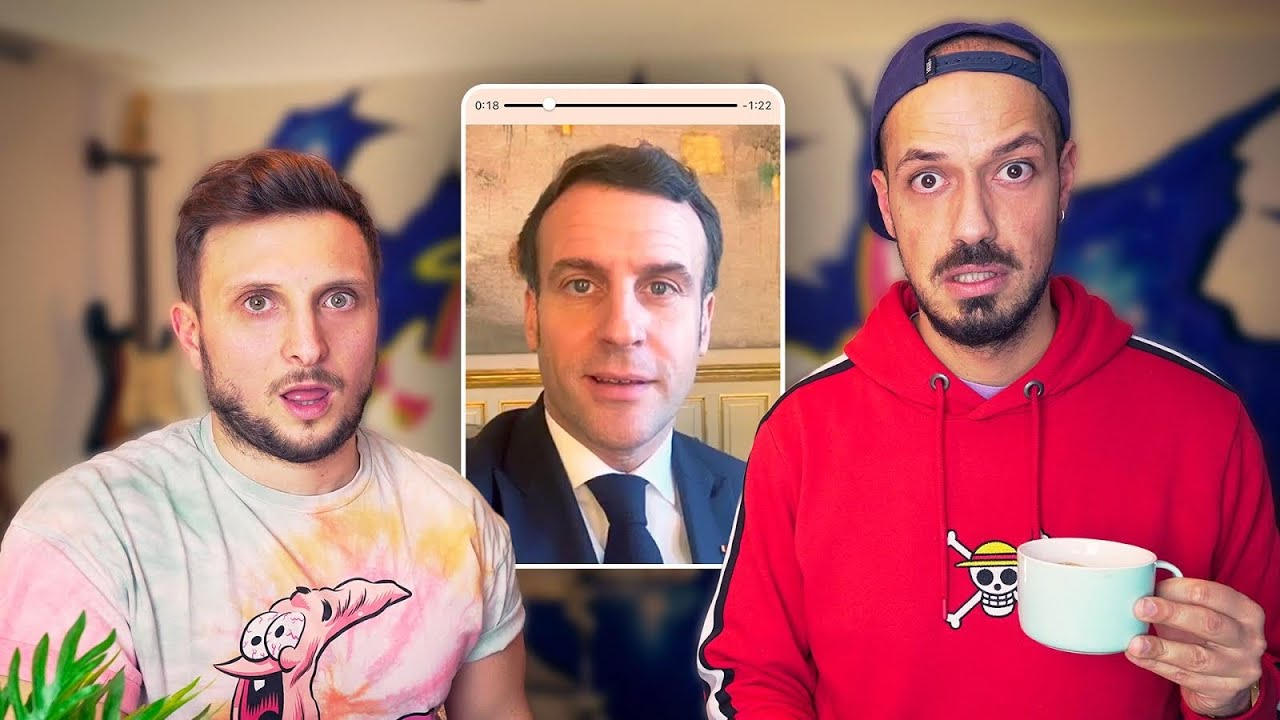Emmanuel Macron lance un défi à Mcfly et Carlito