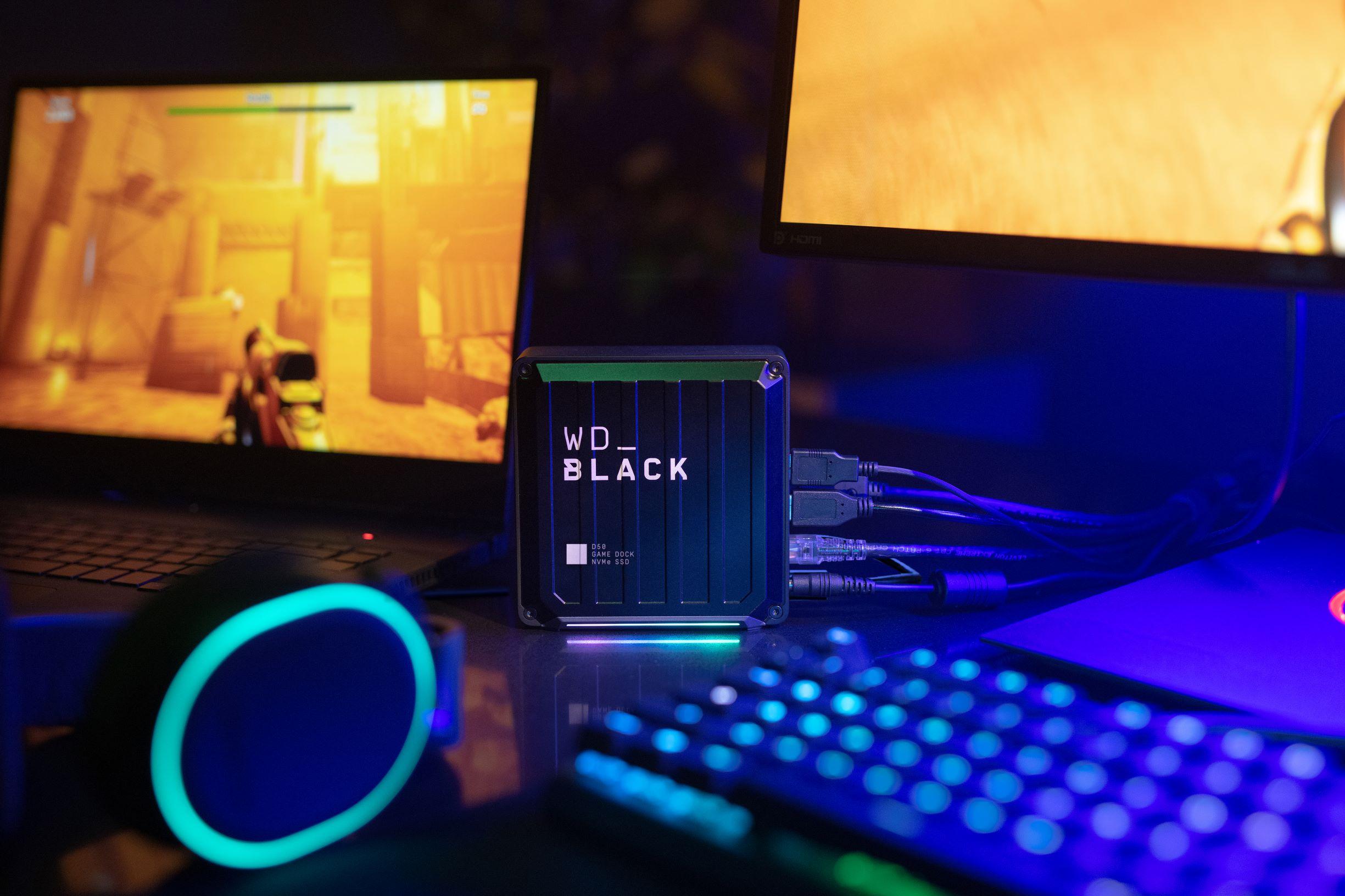 Western Digital présente trois nouveaux SSD pour le gaming !