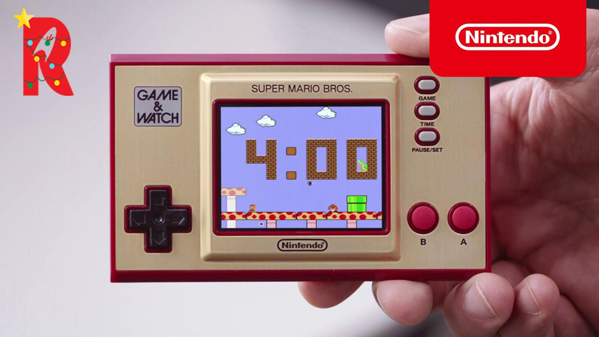game & watch : super mario bros.