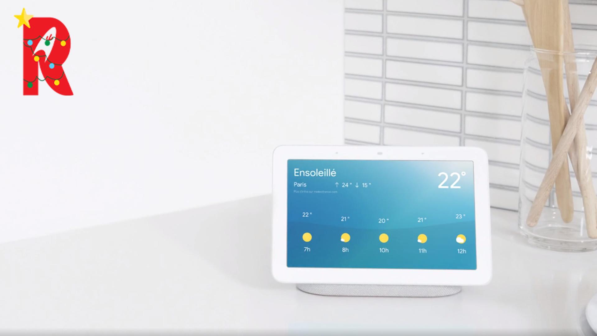Google Nest Hub : l'écran connecté pour la maison !