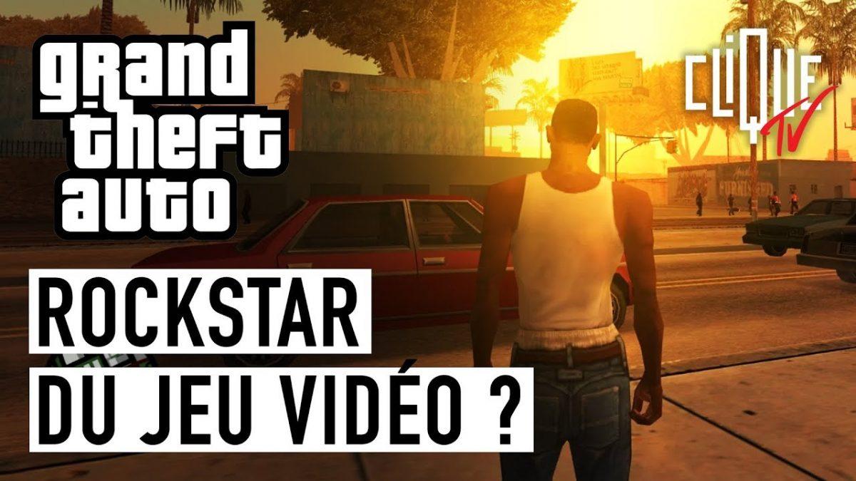 «GTA : Rockstar du jeu vidéo ?» par «Dans La Légende», sur Clique