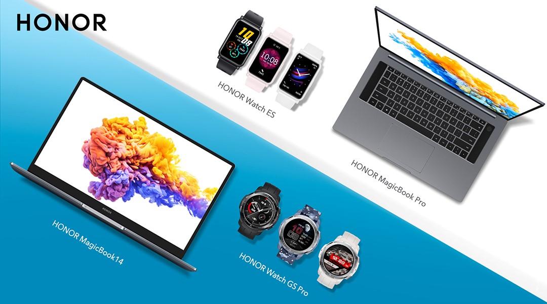 Honor annonce les Watch GS Pro et ES ainsi que le MagiBook Pro !