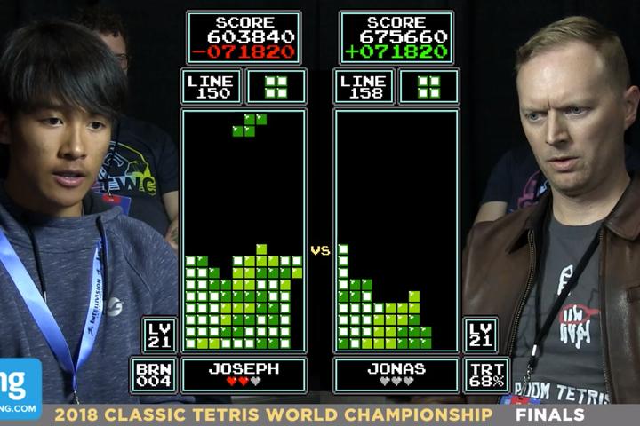Tetris : le nouveau champion du monde a 16 ans !